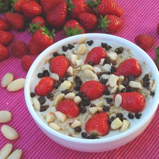 porridge di avena denso