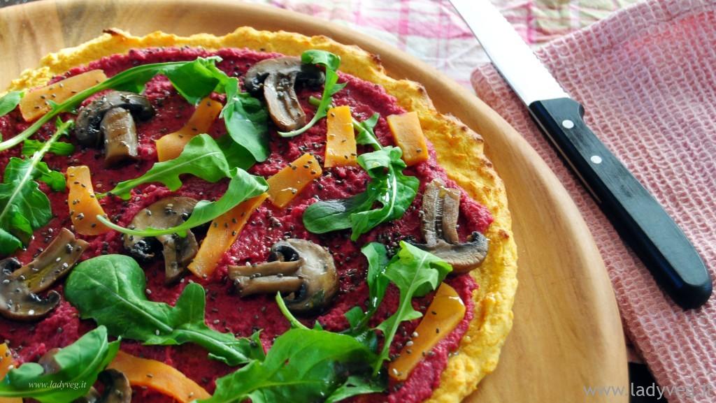 pizza di ceci senza glutine