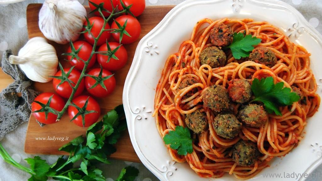 spaghetti di Lilli e il Vagabondo vegan