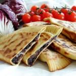 Cassone romagnolo vegan / Italian vegan wrap
