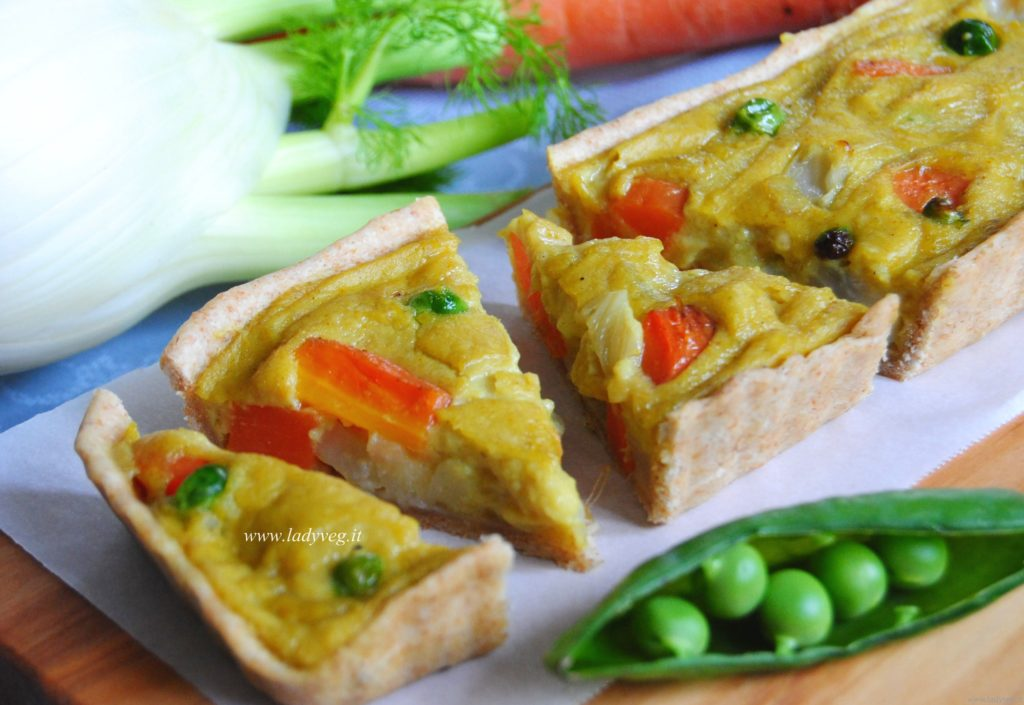 vegan mini quiche