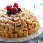 Torta Mimosa vegan
