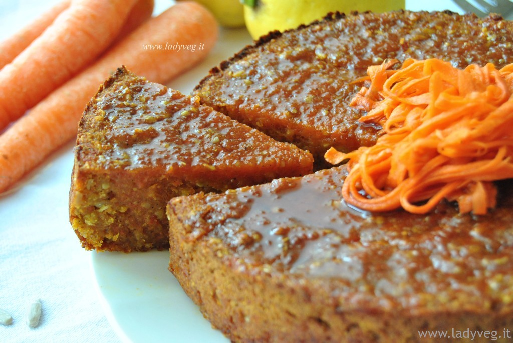 Torta alle carote senza glutine 1