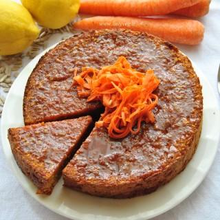 torta alle carote senza glutine