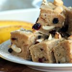 Vegan Blondies noci e banane
