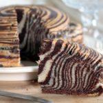 La Zebra Cake Vegan al latte di Mandorle