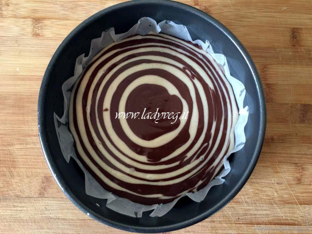 Zebra cake Vegan