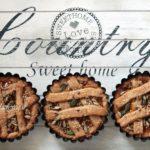 Crostatine vegan integrali senza zucchero