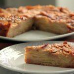 Torta di mele vegan light, umida e cremosa