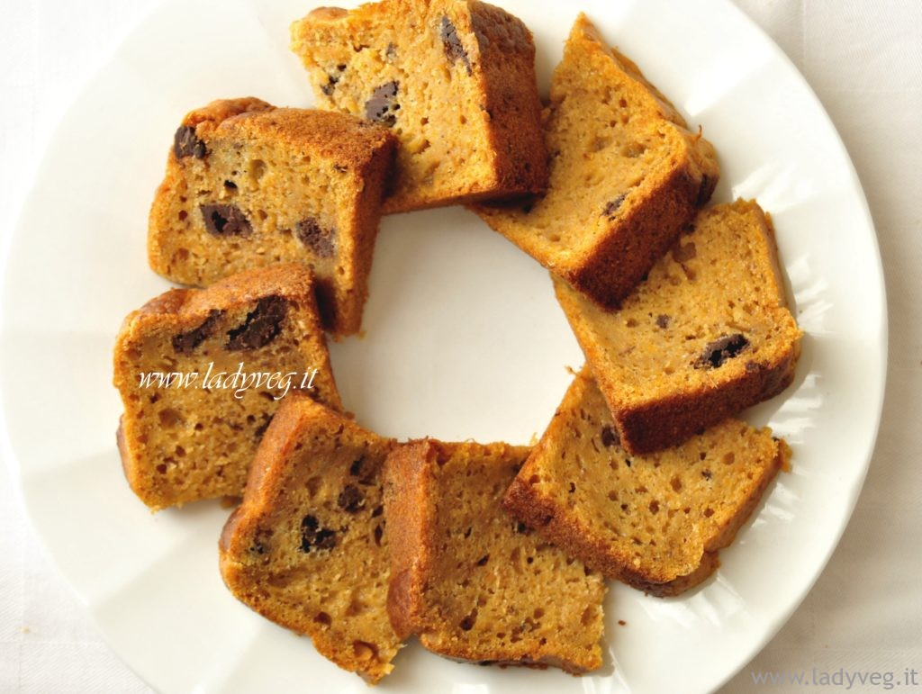 torta di patate dolci vegan