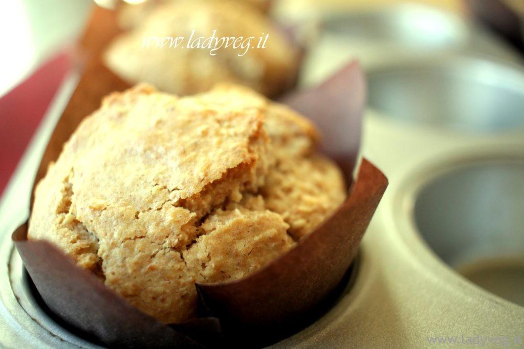 muffin vegani al cocco