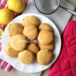 Biscotti vegani senza glutine al limone tipo cookies