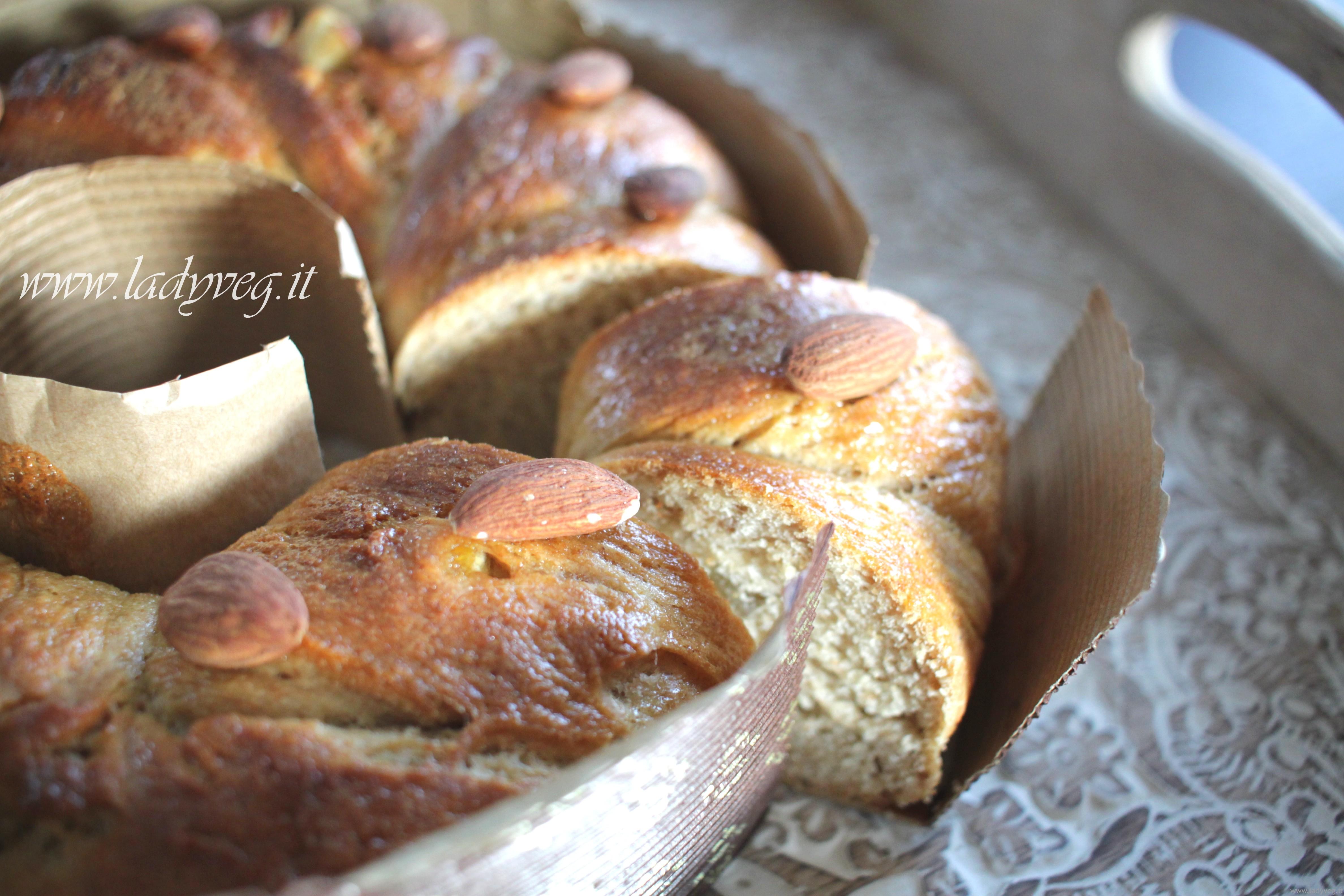 Ricetta Colomba Vegana Con Lievito Di Birra In Ciambella Ricetta