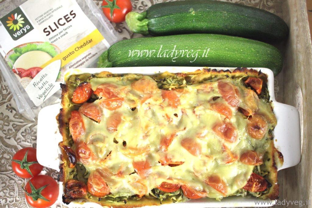 lasagne di carasau vegan