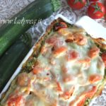 Lasagne di carasau vegan alle zucchine e pomodorini