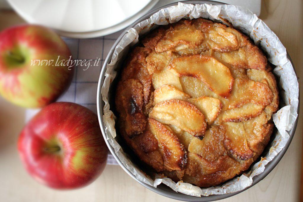 torta di mele vegan senza glutine