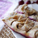 Strudel vegano senza zucchero: ricetta facile con mirtilli e pasta matta!