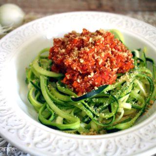 spaghetti di zucchine cotti