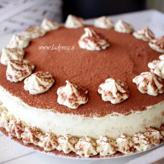torta tiramisù vegana