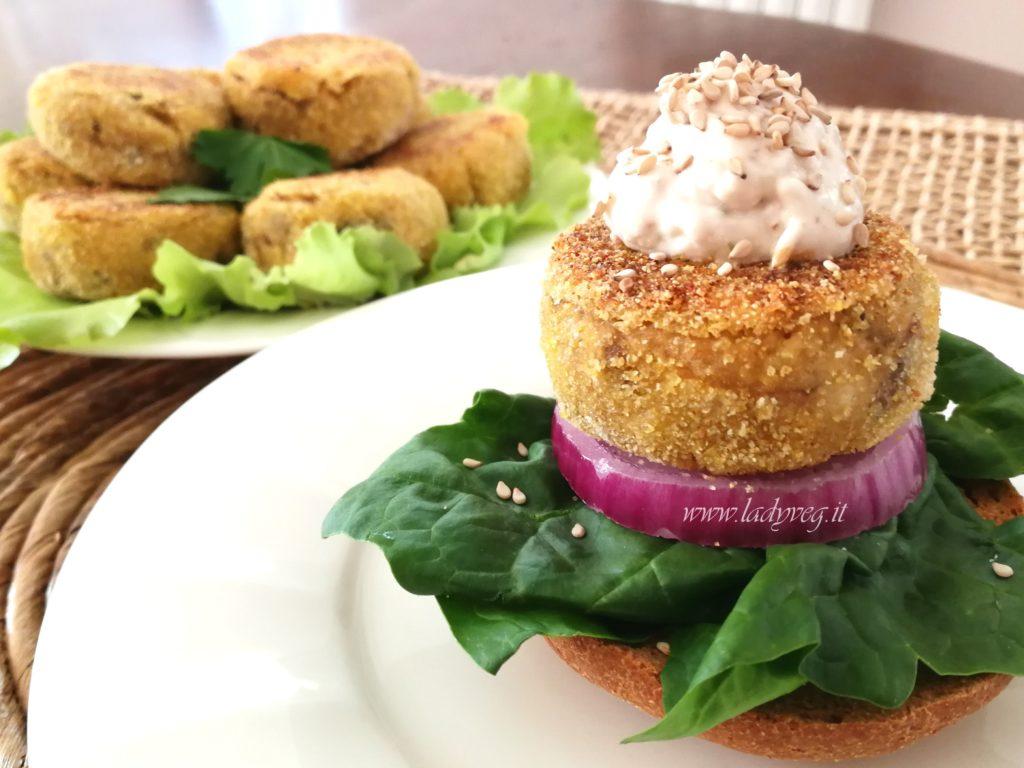 Burger Vegani con Tofu