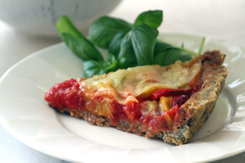 crostata salata vegana senza glutine
