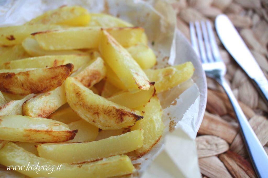 patate croccanti senza olio