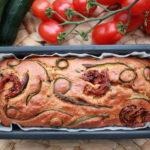 Plumcake vegan salato| Ricetta facile alle verdure, senza latte e senza formaggio