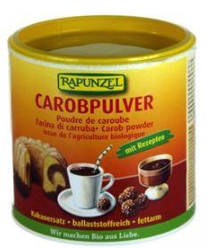 farina di carrube per crema al cacao vegana