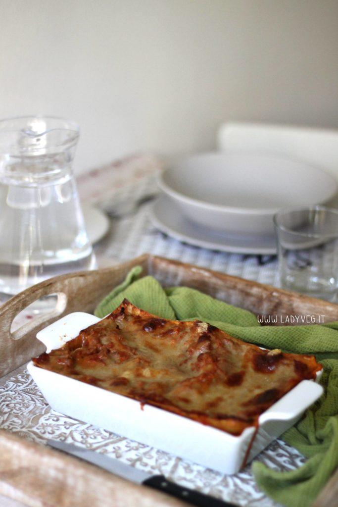 Lasagne al ragù vegan