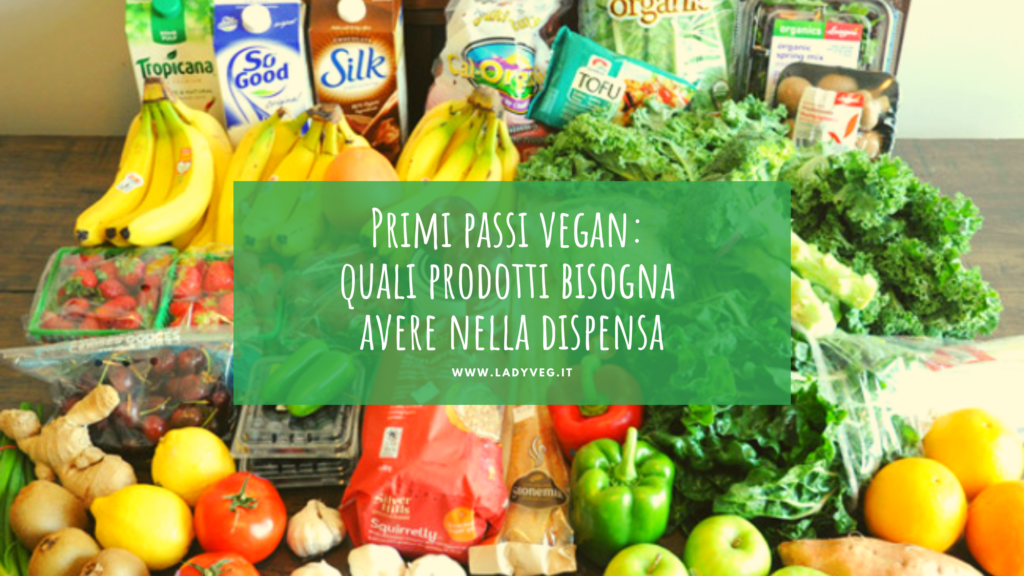 Lista della spesa vegan