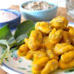 Gnocchi di castagne, zucca e rosmarino autunnali