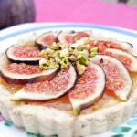 Crostata crudista: dolce vegano senza glutine alle arance e fichi