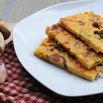 Farinata ai porcini e zucchine, ricetta facile