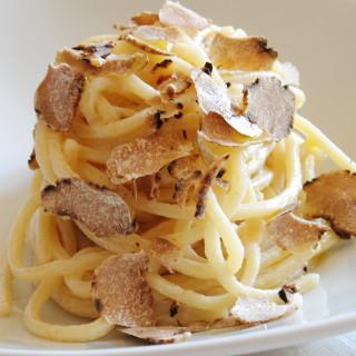 pasta vegan al tartufo