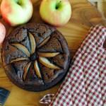 Torta al cioccolato vegana con pere/ Vegan Chocolate Cake