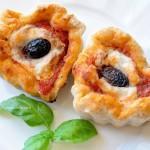 Pizza muffin con veg formaggio