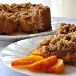 Crumble Vegan senza glutine alle Pesche