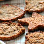 Biscotti senza glutine vegan croccanti alla cannella