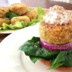 Burger Vegani con Tofu alla Canapa: ricetta facile per burger compatti in padella
