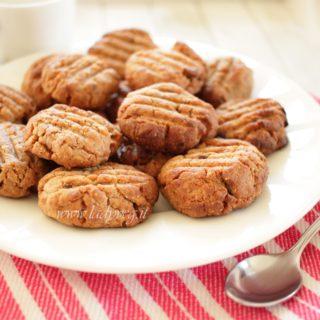 biscotti vegani al burro di arachidi
