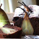 Plumcake vegan pere e cacao: ricetta con pere intere