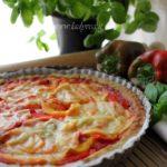 Crostata salata vegana: croccante, senza glutine e senza uova!