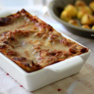 lasagne vegan al ragù