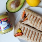 Burrito vegetariano con hummus: ricetta tex mex con verdure