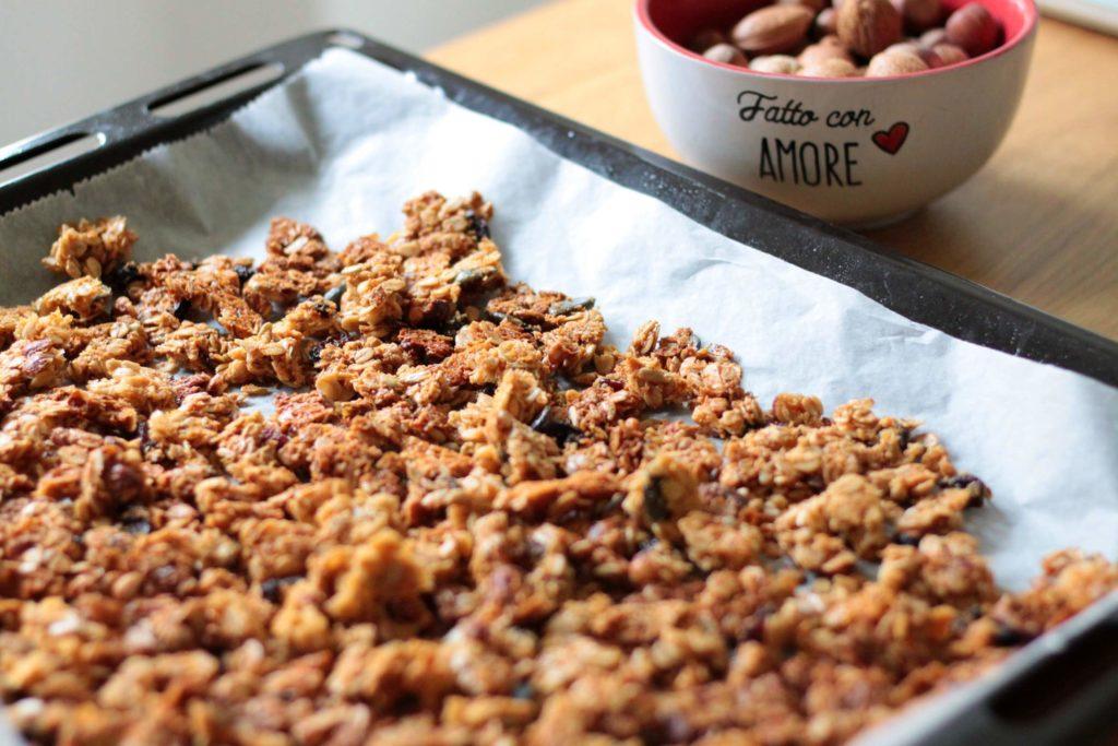 granola cotta al forno